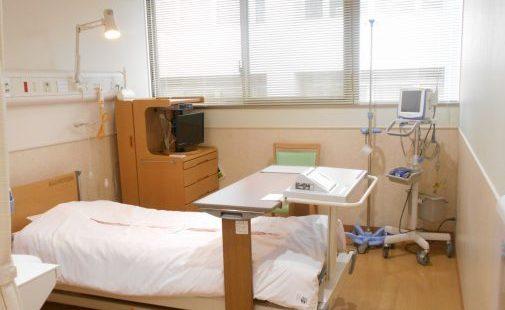 病室(個室)の様子